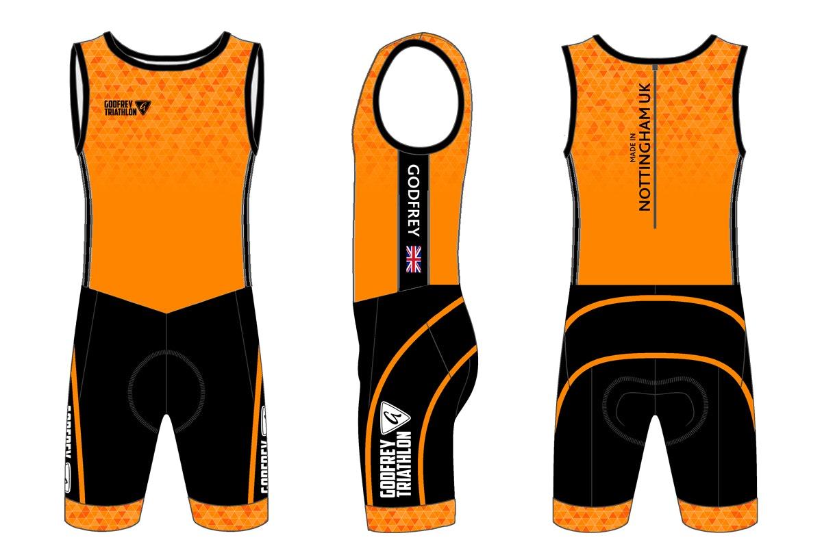 Custom Triathlon Suit - Godfrey Triathlon - Godfrey
